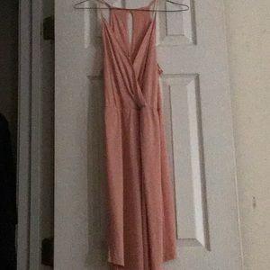 XS BCBG PINK DRESS